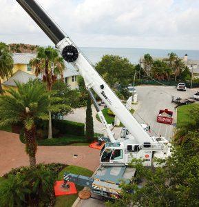 Bare lease crane