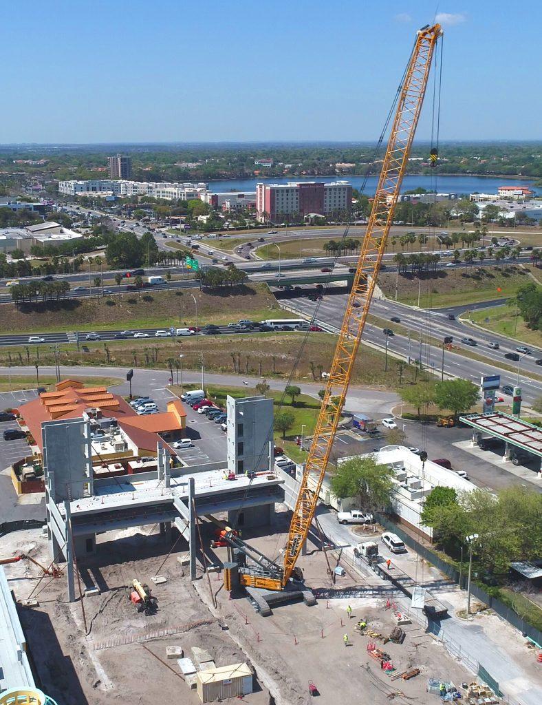 Construction Crane Rental Service