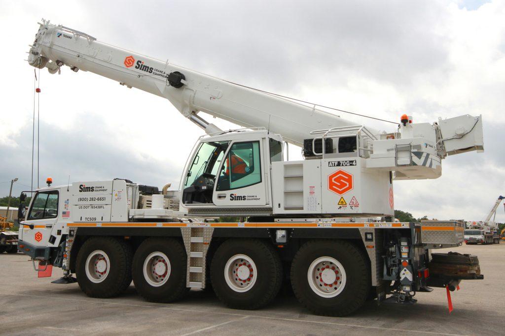 Mobile Crane | Tampa | Orlando | Jacksonville | Miami